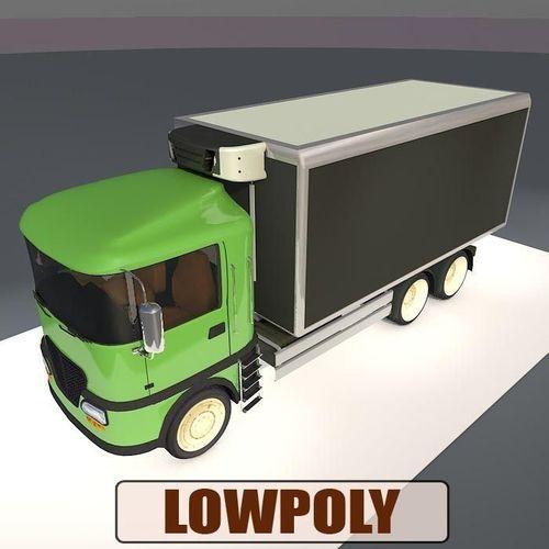 Lowpoly truck033D model