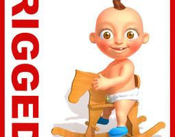 3D Baby Jake Cartoon Rigged