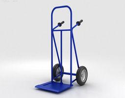 Hand Trolley 3D Model
