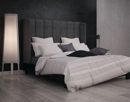 photorealistic Bed 3D model