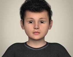Realistic Little Boy 3D