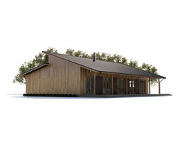 3D model House houses architectural