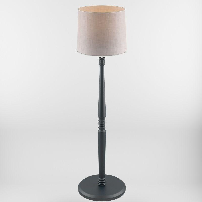 Floor lamp a002 3d model max obj 3ds fbx cgtradercom for Floor lamp 3ds max free model