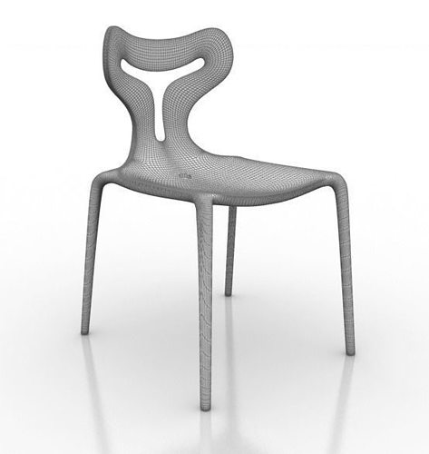 Calligaris Area51 Chair 3d model   CGTrader