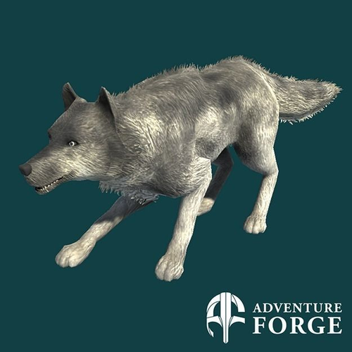 Nordic Wolf3D model