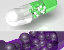 3D Pill model
