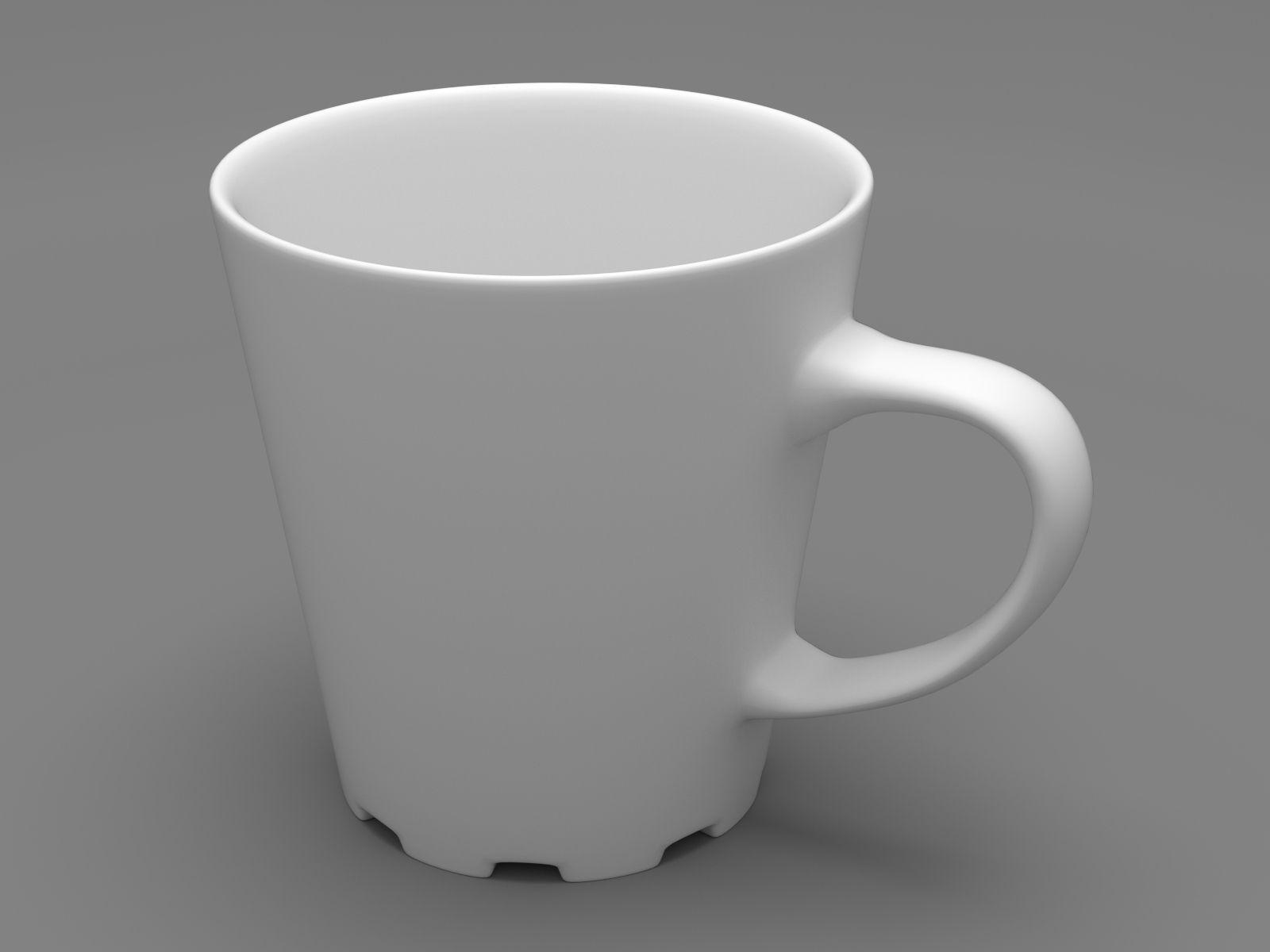 D Printing Models Free Coffee Cup