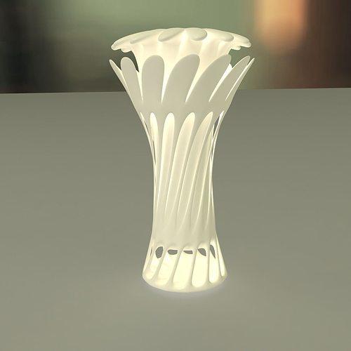 flower vase 3d model stl 1