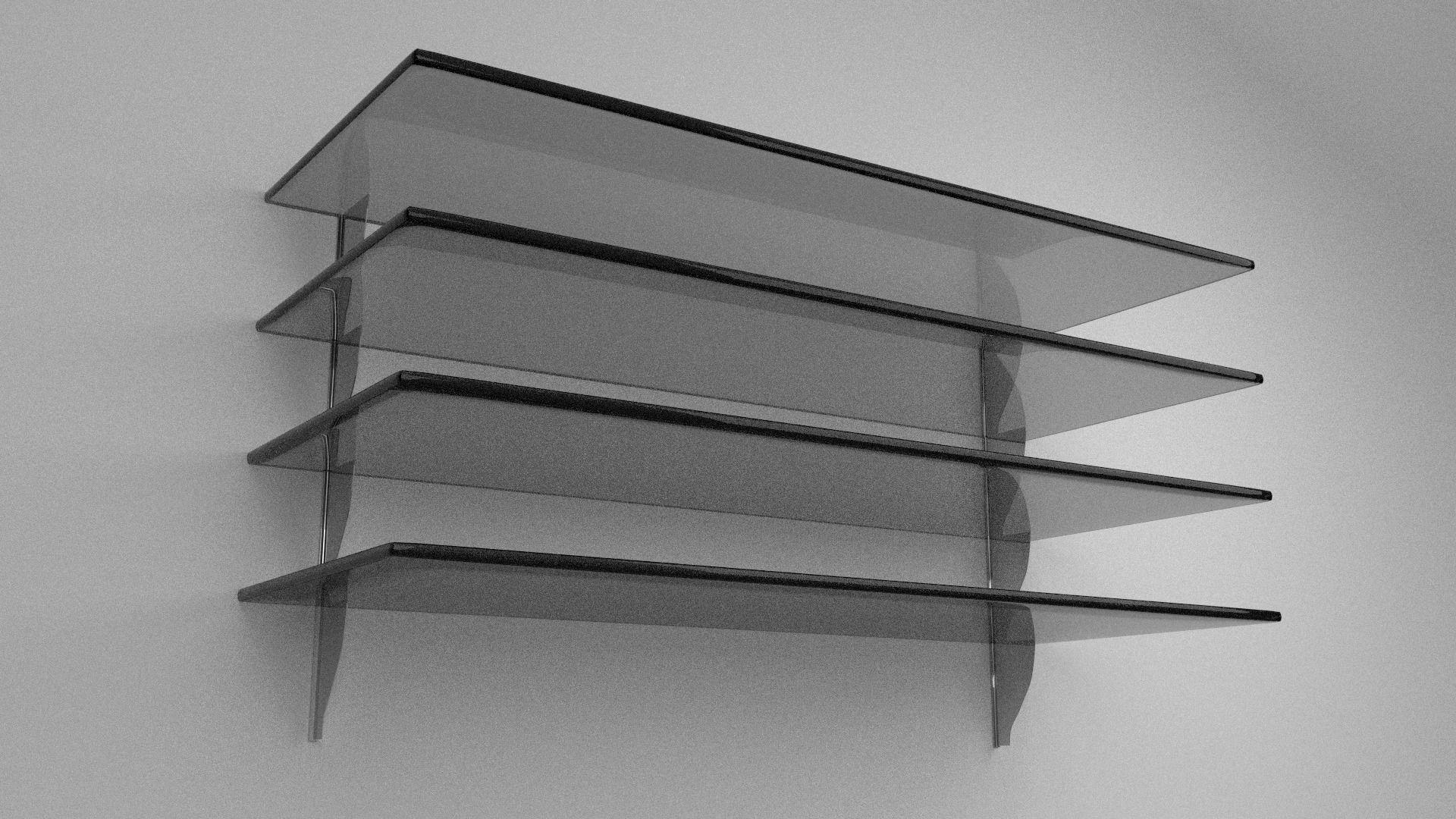 3D model Glass Shelves | CGTrader