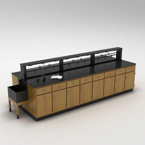 Laboratory Table 013D model