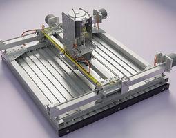 CNC router homebuild 3D Model