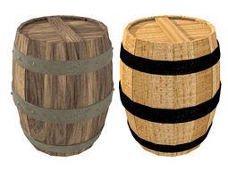 Barrel food 3D