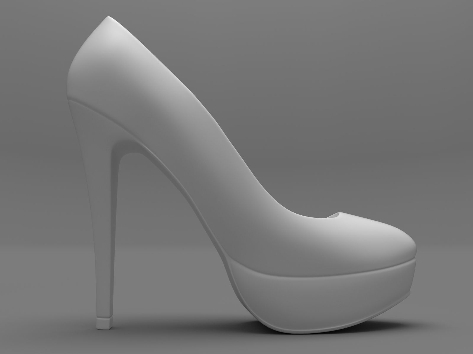 Mini High Heels 3d Model 3d Printable Obj Stl Cgtrader Com