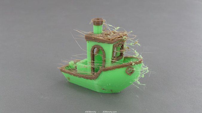 3dbenchy - the jolly 3d printing torture-test 3d model stl 10