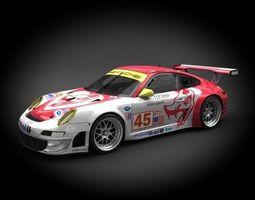 Porsche 911 GT3-RSR 2008 3D