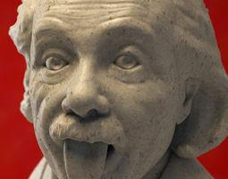 3D model Albert Einstein Bust