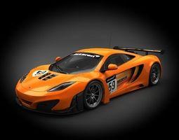McLaren MP4-12C GT3 2012 3D model