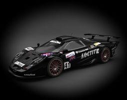 3d model mclaren f1 gtr racing 1998