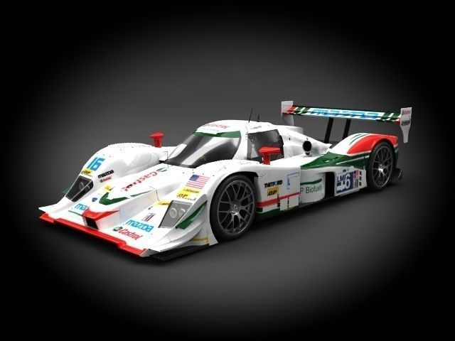 mazda b09-86 dyson racing 2009 3d model max c4d ma mb 1