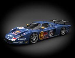 Maserati JMB Racing MC12 2007 3D Model