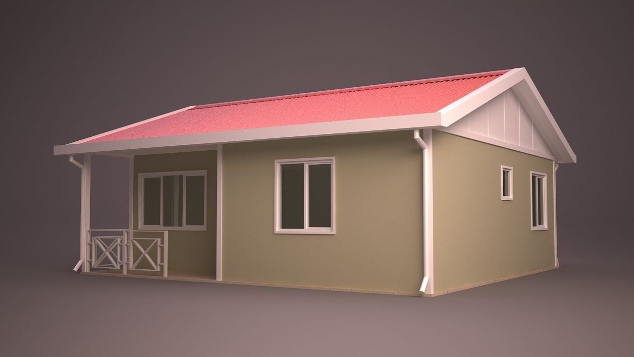 Home 14 3d model max obj 3ds fbx ma mb dwg for Home 3d model