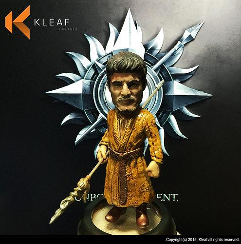game of thrones - oberyn martell 3d model stl 1