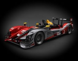 Audi R15 TDI Sport Team Joest 2012 3D Model