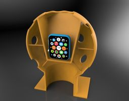 3D printable model Apple Sphere holder