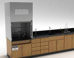 3D Laboratory Table 02