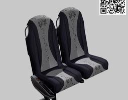 Bus chair 3D Model