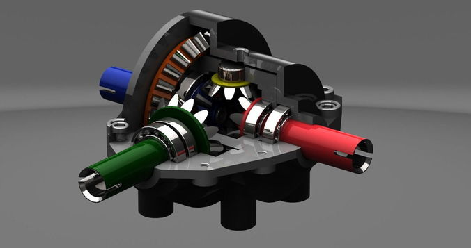Differential Gear Box3D model