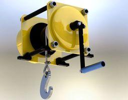 3d winch capacity 500 kg