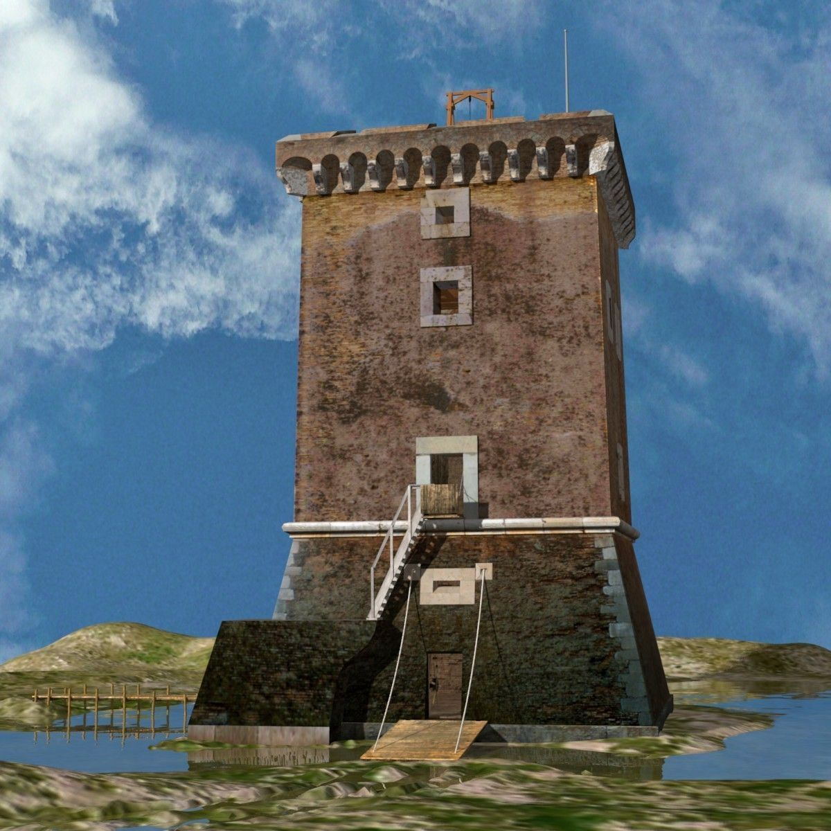 Medieval Saracen Tower -  XV Century