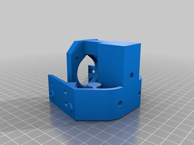 3dr blank motor mount cgtrader 3d printer models free