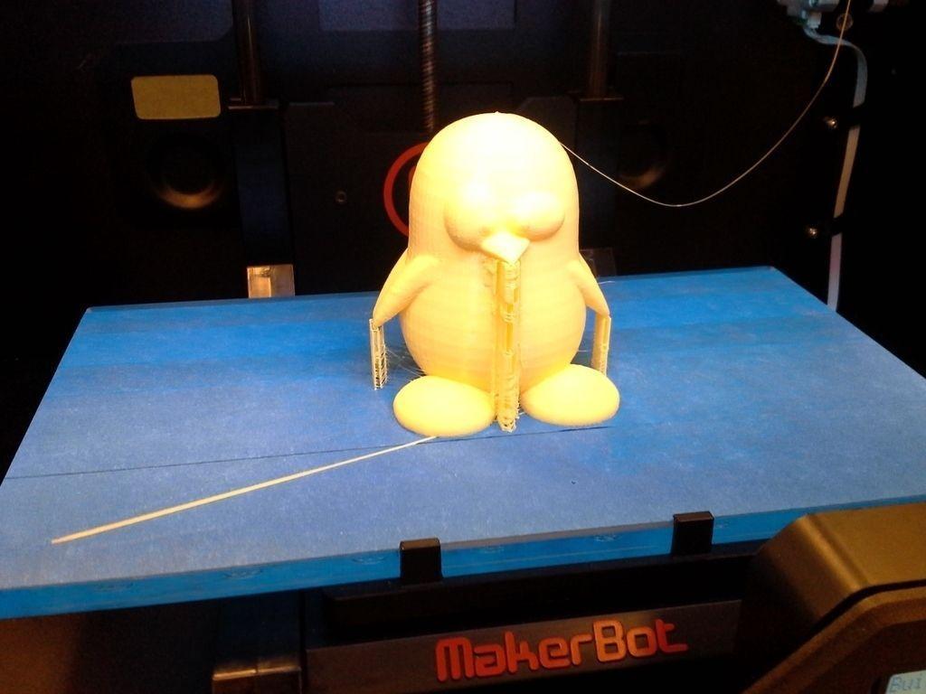 Tux - Linux Penguin free 3D Model 3D printable .stl ...