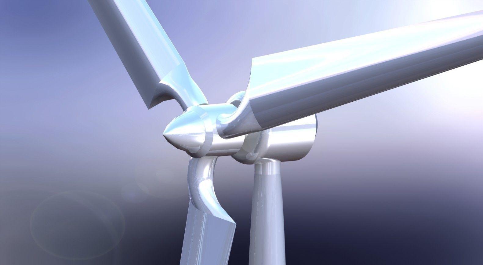 3d Wind Turbine Model – Wonderful Image Gallery