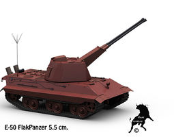 E-50 FlakPanzer 3D Model