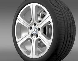 Mercedes Benz C 300 Exclusive line wheel 3D Model