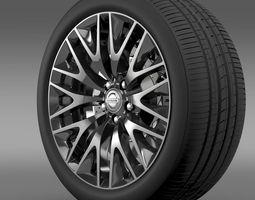 Nissan Cima Hybrid wheel 3D Model