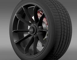 Porsche 911 GT3 RS 2015 wheel 3D Model