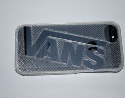 Vans iphone 5 case 3D print model