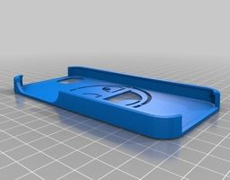 3d printable model smiley iphone 5 case