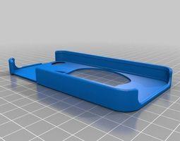 3d printable model apple logo iphone 4 case