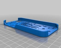 music is my life with notes iphone 5 case 3d print model