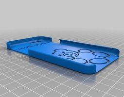 Little bear iphone 6 case 3D Model