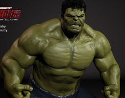 The Hulk - Avengers Age of Ultron -Rigged- 3D Model