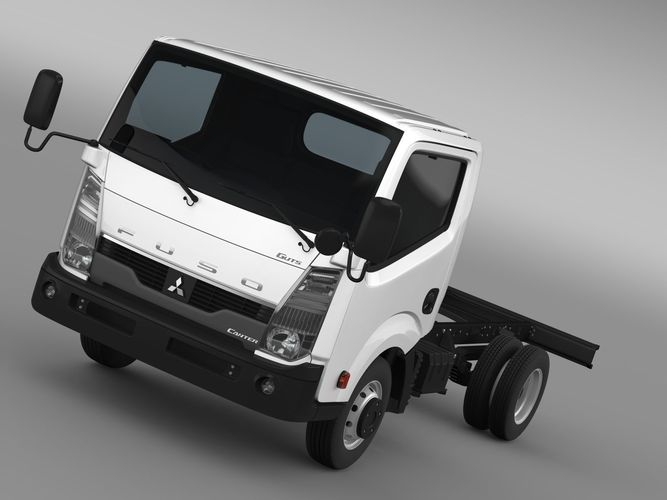 Mitsubishi Fuso Canter Guts Chassi 20153D model