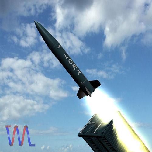 Lora Missile3D model