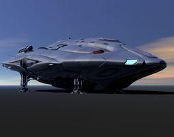 Phaelon Deep Space Transport 3D Model