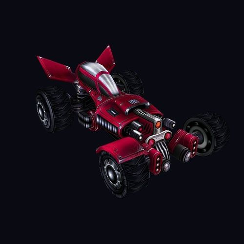car 013D model